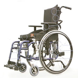 G6 Superior Active Wheelchair