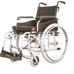 G4 Lightweight Aluminium Wheelchair