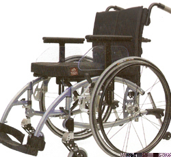 Xeryus Comfort Wheelchair